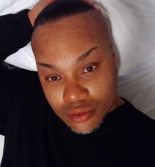 "Brian ""Egypt"" Powers, 43, Black transgender person"